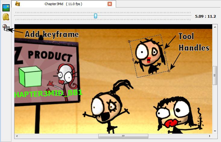maya how to add a keyframe