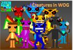 Creatures in WOG Poster
