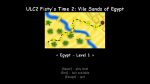 Vile Sands of Egypt Level Selection Screen