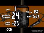 OCD is 21 balls
