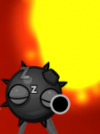 A bomb in the level