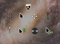 Look at all these wonderful cursors!
