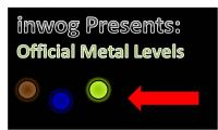 Poster of the Official Metal Levels by inwog.