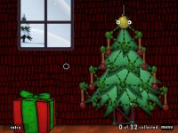 The Christmas tree and the gift