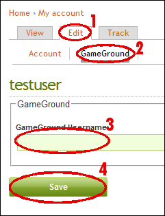 GameGround HowTo